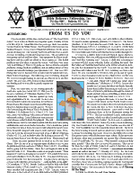 Autumn 2002 newsletter in English