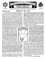 February 1995 newsletter in English