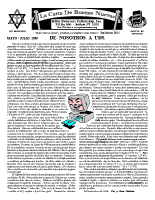May/July 1999  newsletter in Spanish