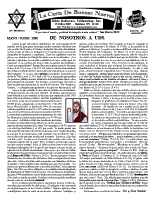 May/June 1998 newsletter in Spanish
