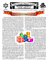 New Year 2015 newsletter in English