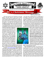 Winter 2013-14 newsletter in English